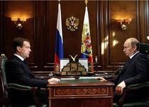 Dmitri Medvedev si Vladimir Putin