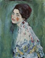 Portret de femeie, Gustav Klimt (wikipedia)