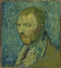 Vincent van Gogh - autoportret, 1889