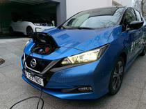 Nissan LEAF si BMW i3