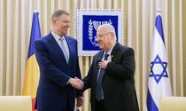 Klaus Iohannis si Reuven Rivlin