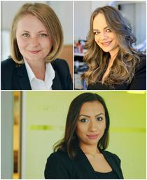 Andreea Șerban, Patricia Enache, Roxana Bratosin
