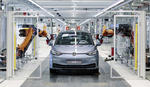 Volkswagen ID.3 pe linia de fabricatie