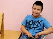Copil cu Sindromul Down