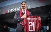 Zlatan Ibrahimovic, din nou in tricoul Milanului