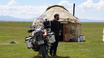 Adrian Iorgu și motocicleta