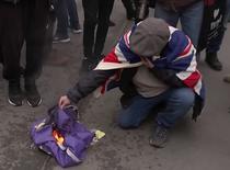 steag UE incendiat