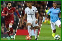 Mbappe, Sterling si Salah, cei mai valori fotbalisti din lume (CIES)