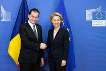 Ludovic Orban și Ursula von der Leyen