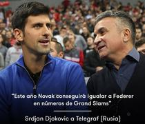Novak Djokovic si titlurile de Grand Slam