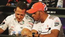 Michael Schumacher si Lewis Hamilton