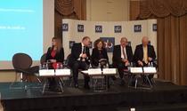 Imagine de la conferinta de marti a ARB