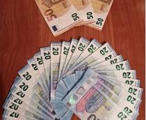 Euro confiscati de politie