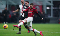 Ante Rebic a marcat din nou pentru Milan