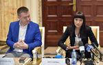 Irina Rimes și ministrul Culturii