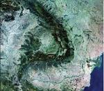 Romania vazuta de pe orbita