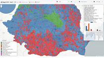Aplicatie - Rezultatul alegerilor prezidentiale 2019 la nivel de sectie