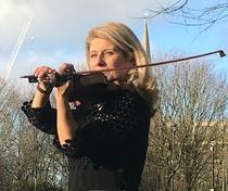 Violonista Lucica Trita