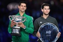 Novak Djokovic si Dominic Thiem