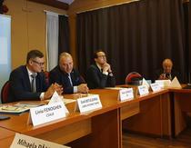 Emil Bituleanu (stânga)