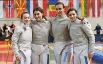 Echipa feminină de sabie a României