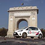 serviciu de e-car sharing