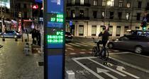 Pista de biciclete de pe Calea Victoriei