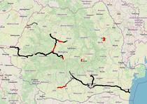 Autostrazile din Romania - 2020