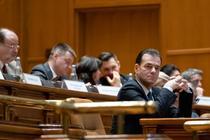 Ludovic Orban în Parlament