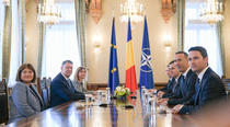 Iohannis si Orban, la Cotroceni