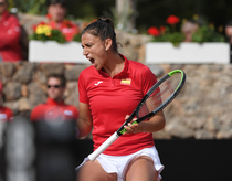 Sara Sorribes Tormo, victorie importanta in FedCup