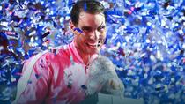 Rafael Nadal si trofeul de la Acapulco
