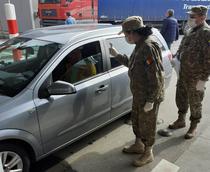 Control medical la trecerea frontierei - medici militari