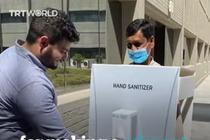 Dezinfectant uman