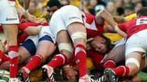 Faza dintr-un meci de rugby