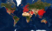Harta coronavirus