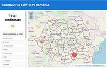 Coronavirus in Romania - Situatia pe harta