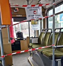 Masuri de protectie anti-coronavirus in autobuz