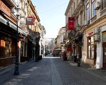 O strada din centrul vechi