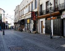 centrul vechi strada goala