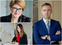 Irina Dimitriu, Ioana Georgescu-Mureșanu, Mihnea Galgoțiu–Săraru