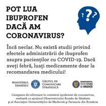 Ibuprofen si coronavirus