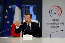 Emmanuel Macron celula de criza