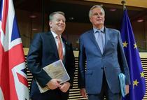 David Frost si Michel Barnier