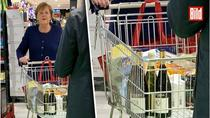 Merkel la cumparaturi
