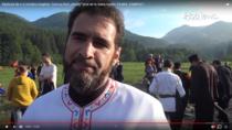 Preotul Ioan Arion la Valea Uzului