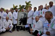 Medici trimisi din Cuba in Lombardia