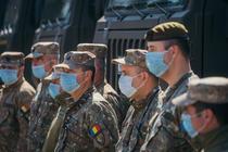 Militari pe timpul pandemiei de coronavirus