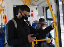 Autobuz in Kiev