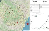 Harta cazurilor de coronavirus pe judete - oficial nu se mai comunica informatii